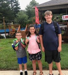 1st Day of School 2018: 2nd, 3rd & 7th grades